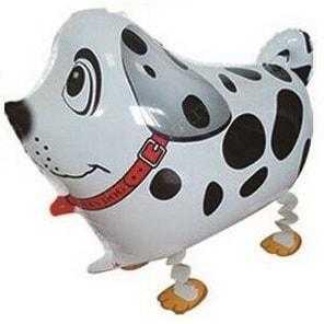 Ходячая Фигура, Собака далматинец, Белый, 61см