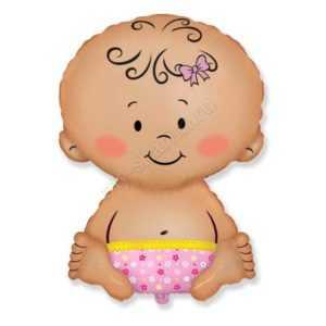 Малышка девочка, Розовый, 66см