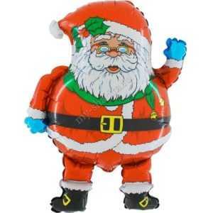 Фигура, Дед Мороз в очках, 74см