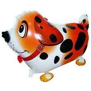 Ходячая Фигура, Собака далматин, Оранжевый, 61см