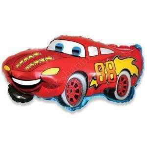 Фигура, Гоночная машина, Красный, 81 см