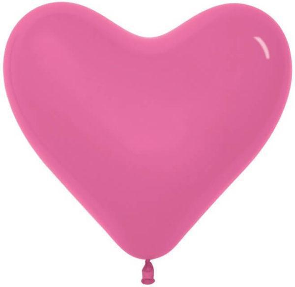 Сердце Фуше, пастель, 30 см