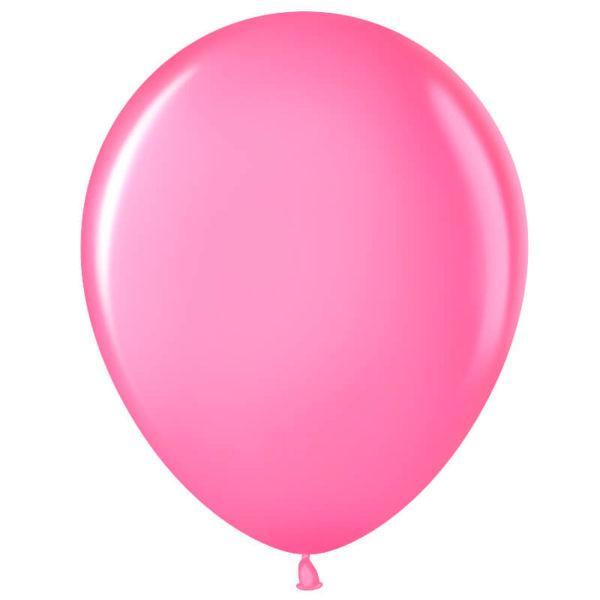 Шар Ярко-розовый, пастель