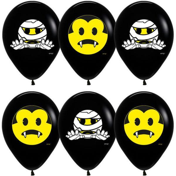 Шар Хэллоуин, Emoji, Черный